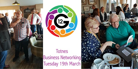 G12 May Business Networking Event Totnes tickets