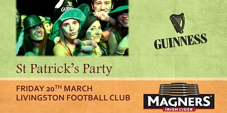 St Patrick's Party Livingston tickets