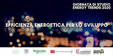 Giornata Studio Energy Trends 2020 - Efficienza Energetica per lo Sviluppo biglietti