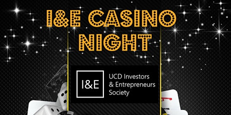 I&E Casino Night tickets