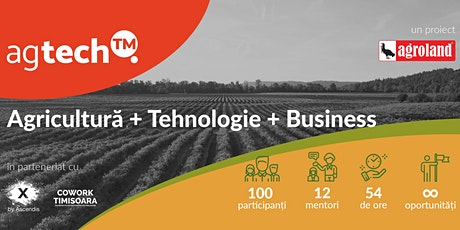 Techstars Startup Weekend Timisoara AgTech powered by Agroland tickets