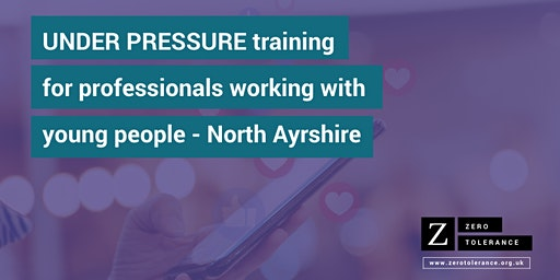 Under Pressure Training for Youth Workers - North Ayrshire