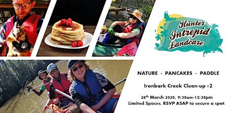 Pancake Powered Paddle - Ironbark Creek Cleanup tickets