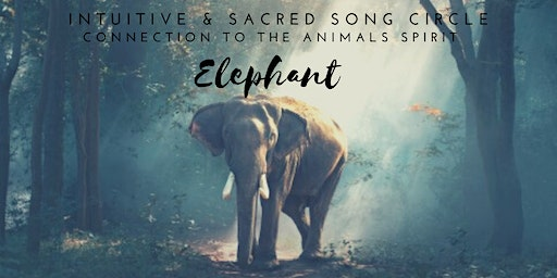 Intuitive&Sacred Song Circle - Connection to the Animals Spirit / ELEPHANT