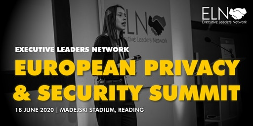 ELN European Privacy & Security Summit - 18 June 2020