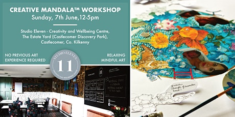 Creative Mandala™  Workshop in picturesque Studio | Relaxing | Mindful Art Tickets