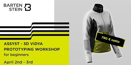 ASSYST - 3D VIDYA PROTOTYPING Workshop for Beginners No. 20SVID-01 Tickets