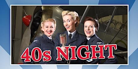 40s Night  featuring The Bluebird Belles tickets