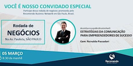 Café com Negócios + Palestra: Estratégias da Comunicação para Empreendedores de Sucesso tickets