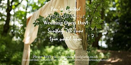 Sherwood Glade Wedding Venue Open Day tickets