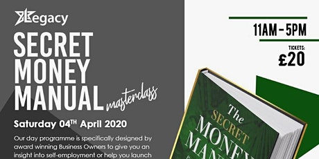 Secret Money Manual Workshop tickets