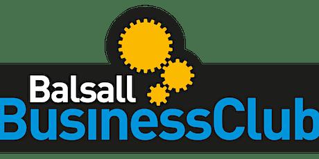 Balsall Business Club March 2020 tickets