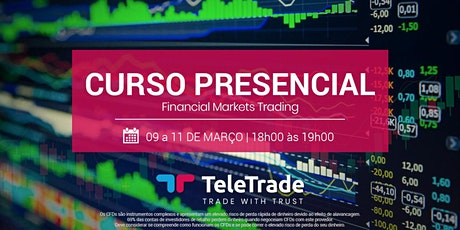 Curso de Financial Markets Trading bilhetes
