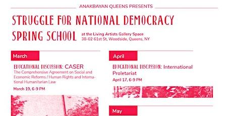 Anakbayan Queens NY Spring SND School - Queens, NY tickets