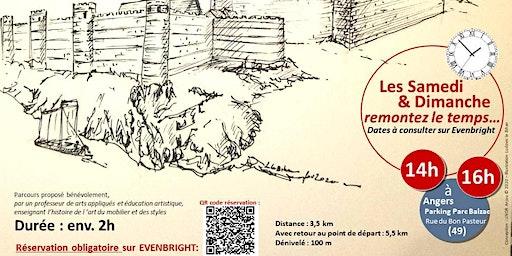 Angers, de la préhistoire au 19e s, empreintes de l'architecture civ & mili