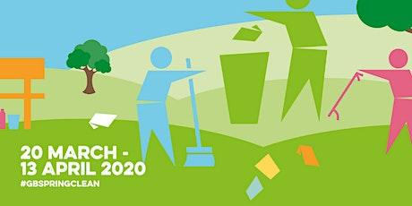 Bentley Pavilion & Park : Great British Spring Clean (2 Hours Volunteering) tickets