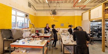 Full day intensive ceramic workshop / £110 all inc tickets