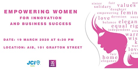 Empowering Women for Innovation and Business Success tickets