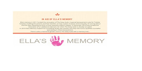 GALA DINNER AND DANCE in aid of ELLA'S MEMORY tickets