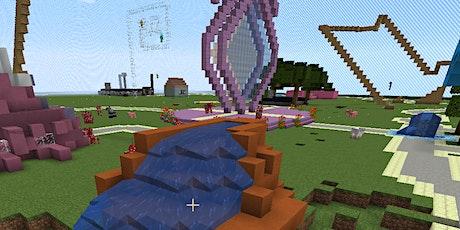 Minecraft: Wir entwerfen einen Frezeitpark Tickets