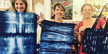 Crafts Workshop | Pattern making using Shibori onto textiles | Hand dye | Tie dye tickets
