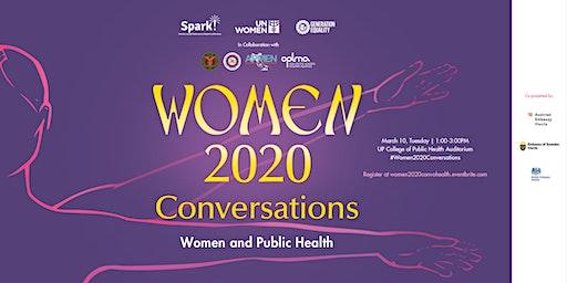 #Women2020Conversations - Women and Public Health