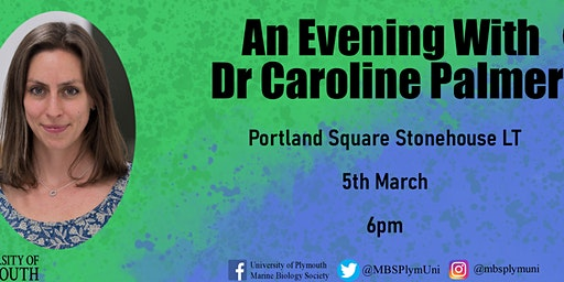 An Evening With ...Women in STEM Featuring Dr Caroline Palmer
