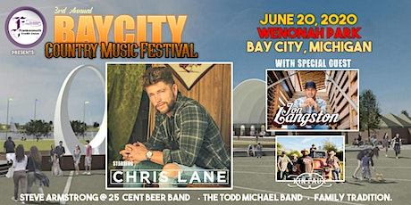 Bay City Country Music Festival with Chris Lane wsg Jon Langston presented by Frankenmuth Credit Union tickets