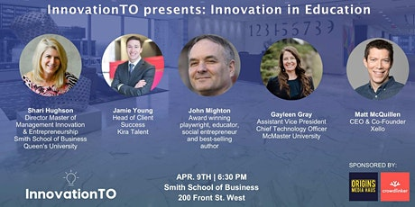 InnovationTO presents: Innovation in Education tickets