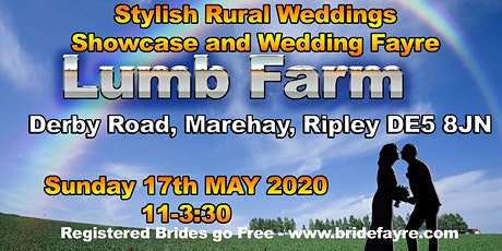 The Lumb Farm Autumn Gold Wedding Fayre tickets