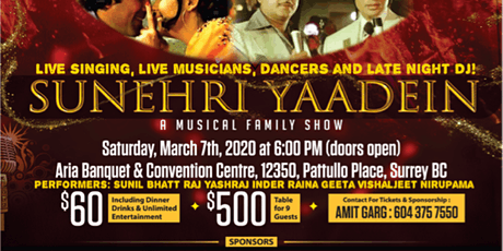 SUNEHRI YAADEIN - A Family Musical Extravaganza! tickets