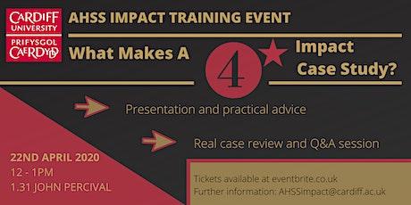 AHSS Impact: 'What Makes A 4* Impact Case Study?' Seminar tickets