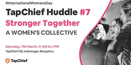 TapChief Huddle #7: A Women's Collective tickets