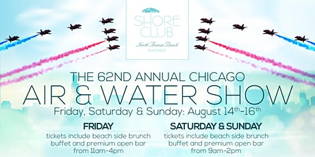 Air & Water Show Sunday 8/16 tickets