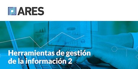"""Taller: """"Herramientas de gestión de la información 2 -BI"""" entradas"""