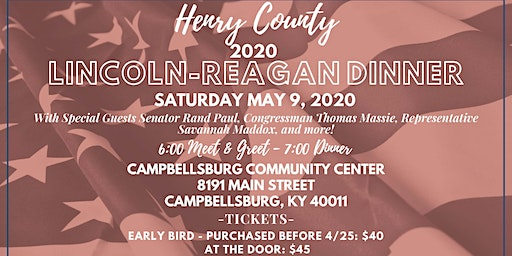 Henry County Lincoln Reagan Dinner 2020