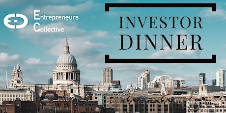 Investor Dinner - Entrepreneurs Collective tickets