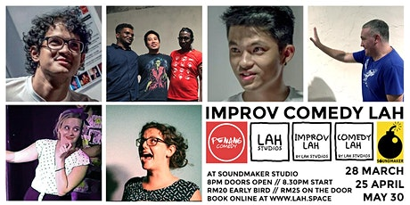 IMPROV COMEDY LAH tickets