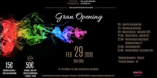 GRAN OPENING COLECTOR SOMNIS