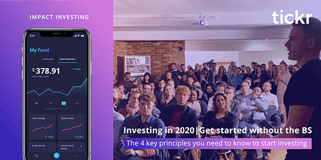 March tickr Event | Learn to invest without the BS tickets