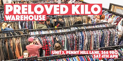 Rotherham Warehouse Preloved Vintage Kilo