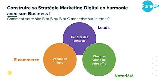 Construire sa Stratégie Marketing Digital en harmonie avec son Business