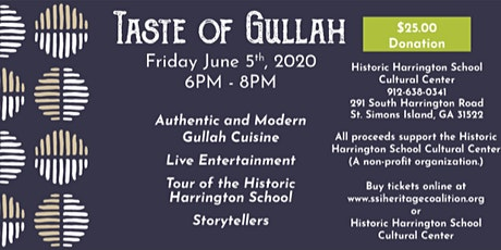 Taste of Gullah tickets