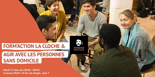 Form'action La Cloche & La FAP - Agir avec les personnes sans domicile