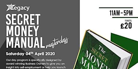 Secret Money Manual Workshop tickets