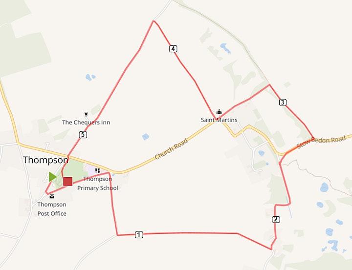 Thompson 5k and 10k Run 2021 image