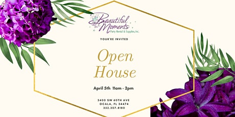Beautiful Moments Open House tickets