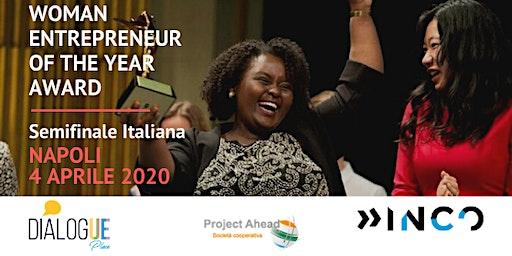 4 aprile: Semifinale Italiana del Woman Entrepreneur of the Year Award