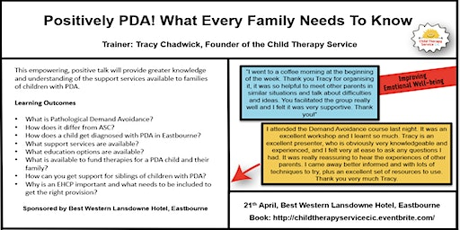 Positively PDA! What every family needs to know