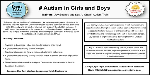 Autism in Girls and Boys